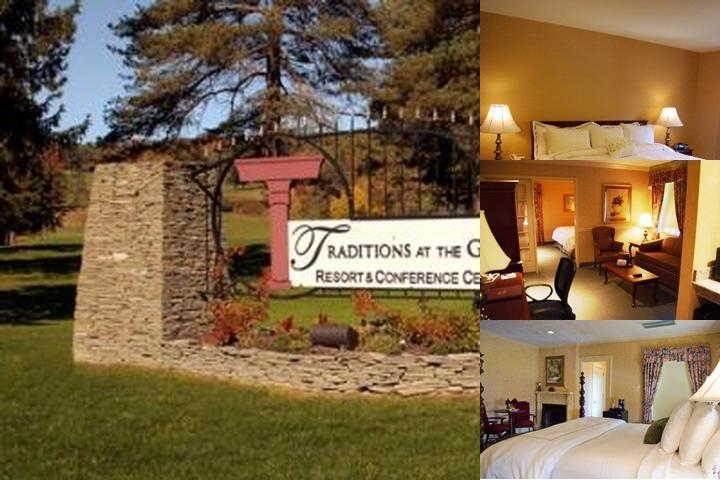 Traditions at the Glen Resort & Conference Center photo collage