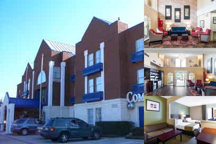 Comfort Suites Las Colinas photo collage