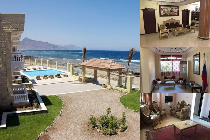 Dahab Hotel photo collage
