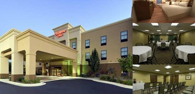 Hampton Inn Marshall photo collage