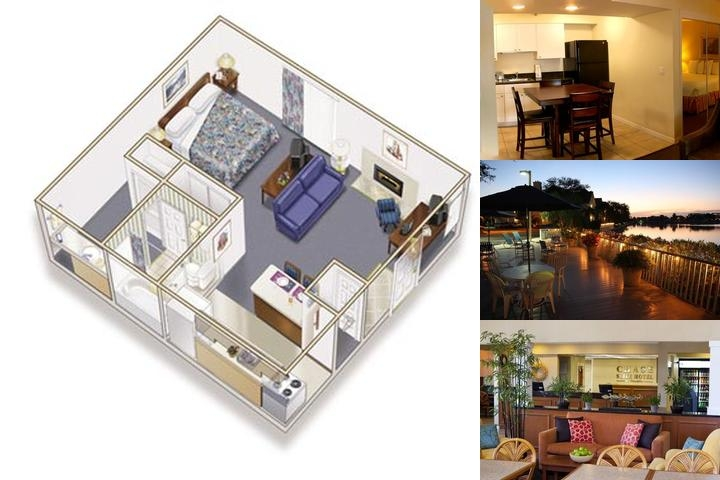 Chase Suite Hotel photo collage