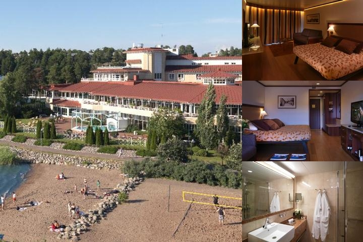 Naantali Spa photo collage