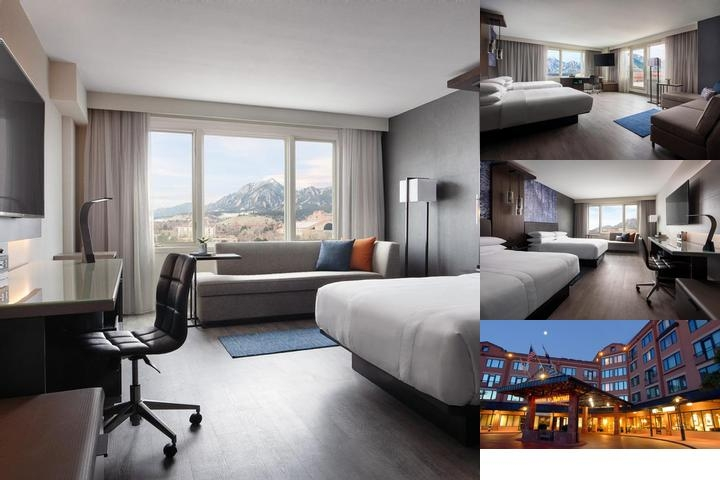 Boulder Marriott photo collage