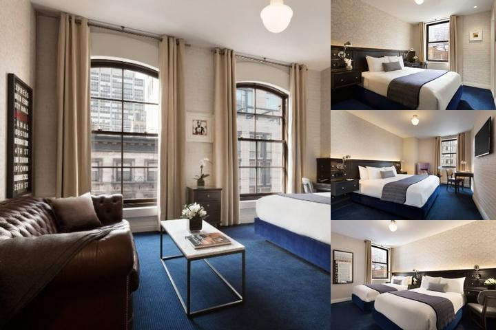 Cosmopolitan Hotel Tribeca photo collage