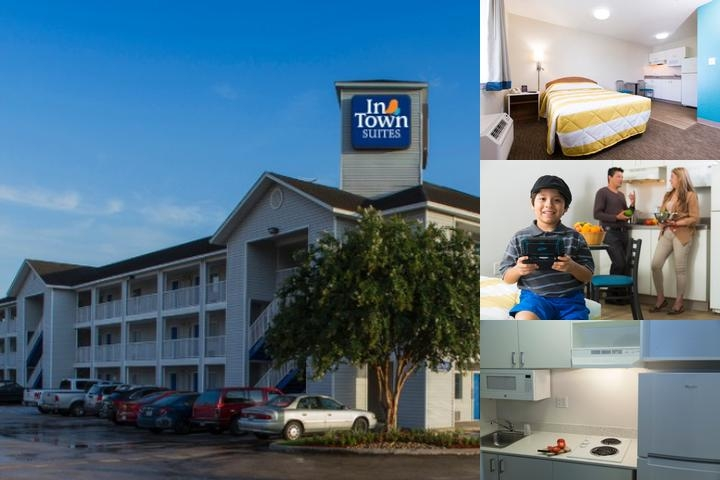 Intown Suites Dallas Northeast (Zdt) photo collage