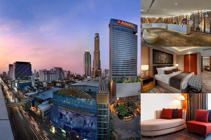 Amari Watergate Bangkok photo collage