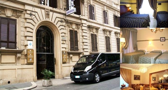 Hotel Philia Rome photo collage