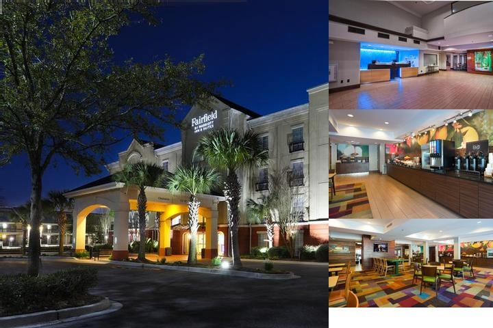 Fairfield Inn & Suites North / Ashley Phosphate photo collage