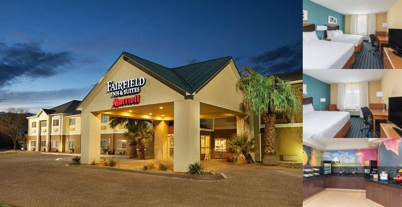 Fairfield Inn & Suites Midland photo collage