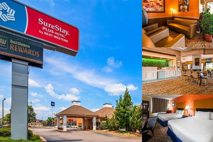 SureStay Plus Hotel by Best Western Fayetteville photo collage