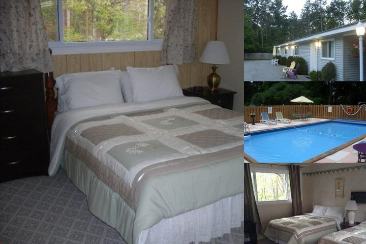 Whispering Pines Motel photo collage