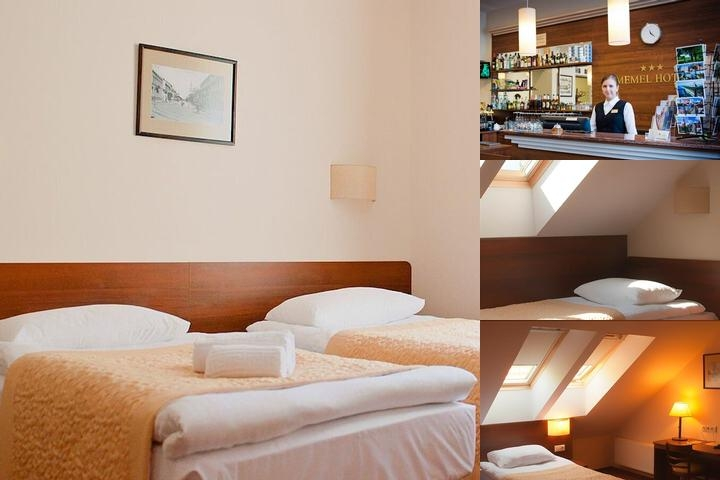Memel Hotel photo collage