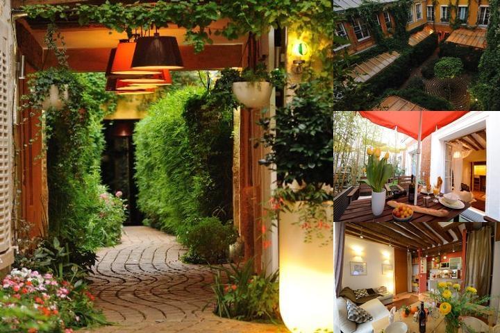 Les Patios Du Marais Paris 26 Rue Des Gravilliers 75003
