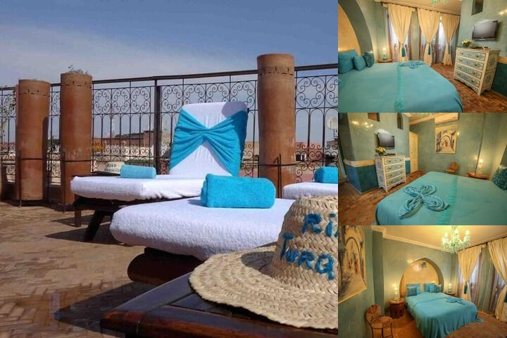 Riad Turquoise photo collage