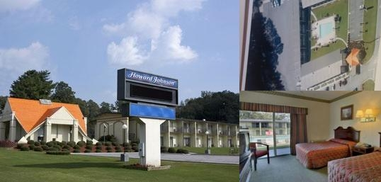 Howard Johnson Athens photo collage