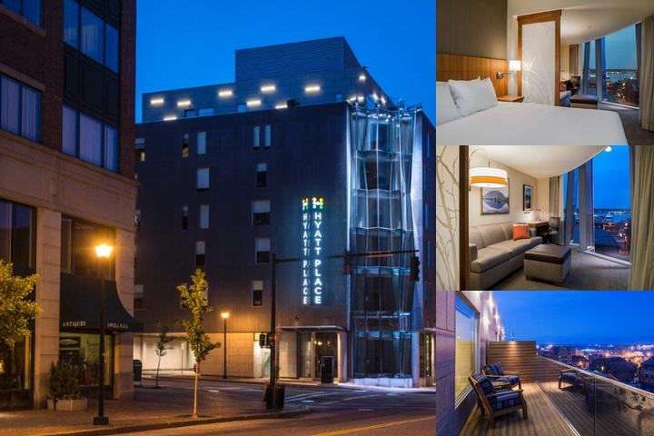 Hyatt Place Portland Old Port photo collage