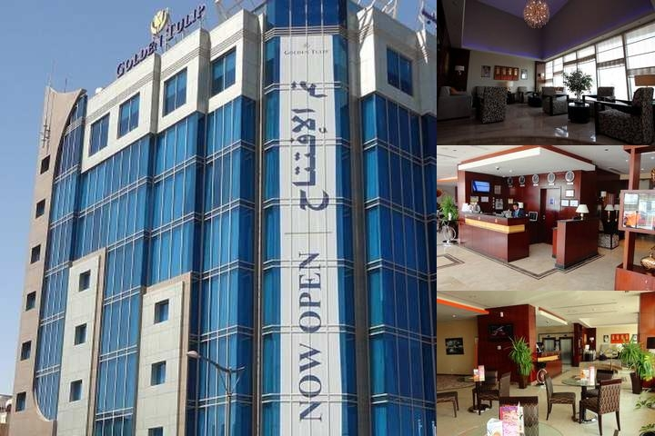 Golden Tulip Al Jubail photo collage