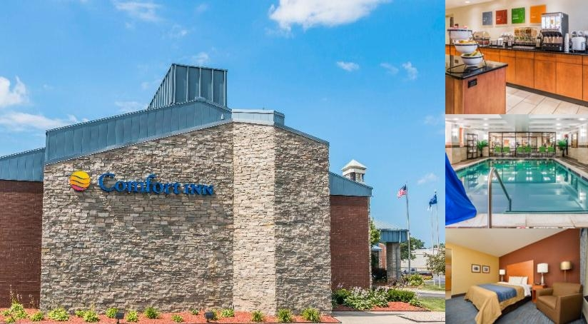 Comfort Inn Plymouth West Livonia photo collage