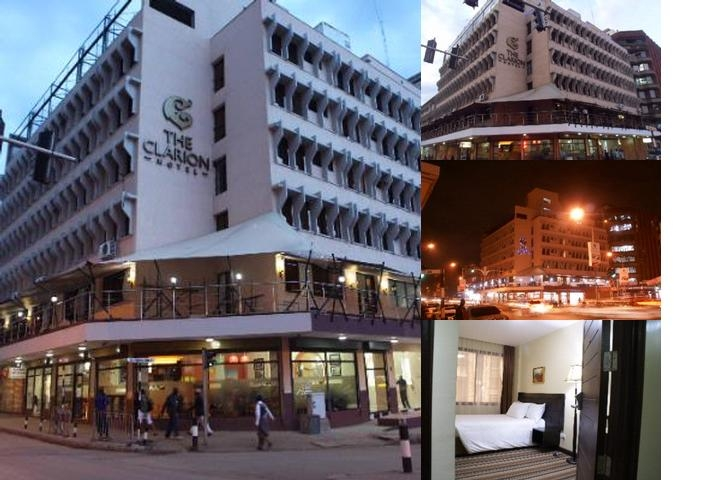 The Clarion Hotel photo collage