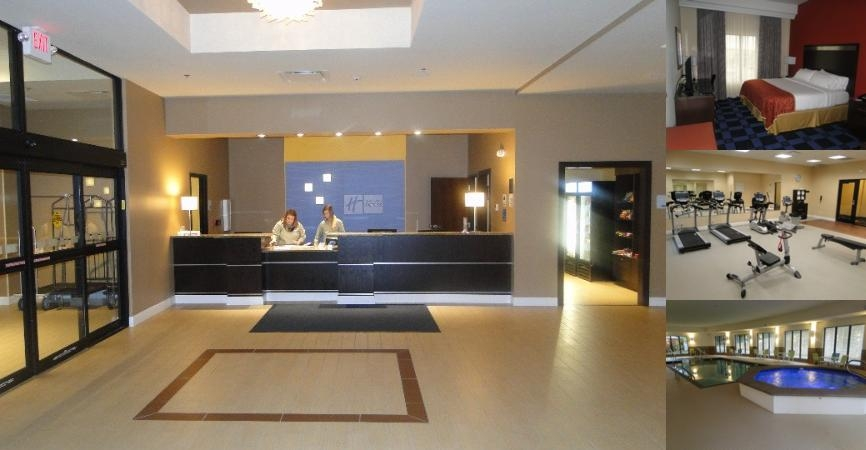 Holiday Inn Express Hotel & Suites Columbia Univ Area Hwy 63 photo collage