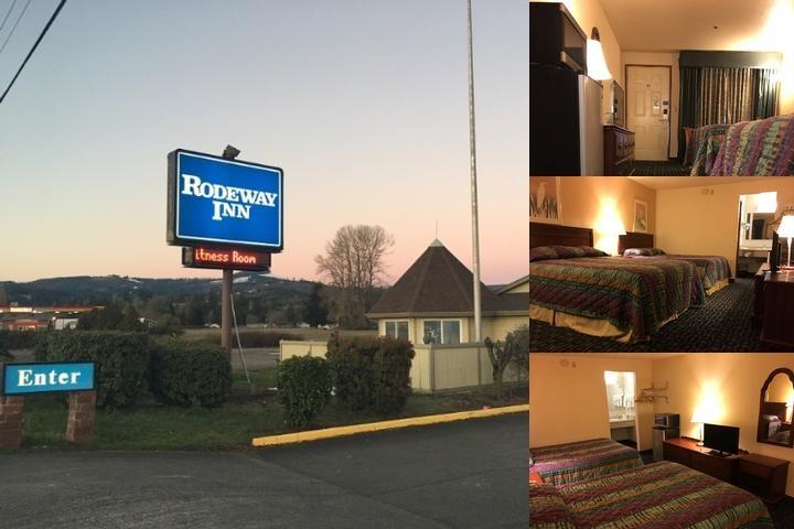 Rodeway Inn At Woodland Wa Photo Collage