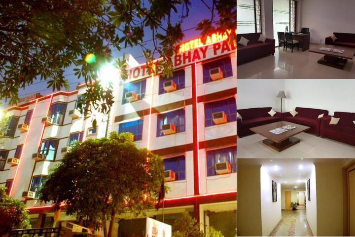 Hotel Abhay Palace photo collage