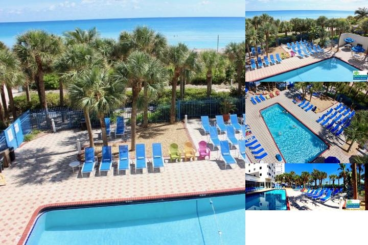 Crystal Beach Suites Hotel photo collage