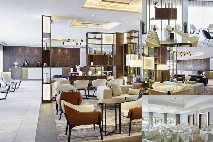 London Marriott Hotel Regents Park photo collage