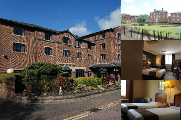 Best Western Plus Stoke on Trent Moat House photo collage