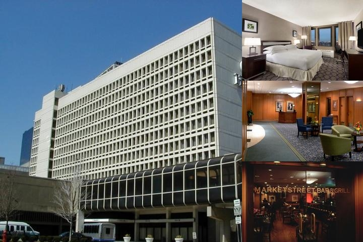 Hilton Newark Penn Station photo collage
