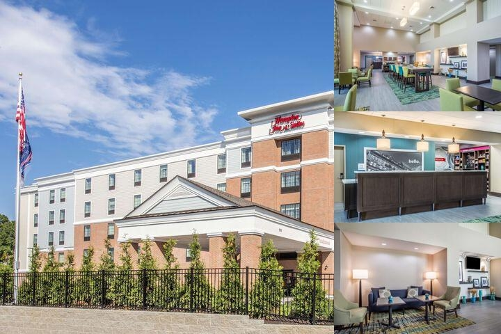 Hampton Inn & Suites Yonkers Westchester photo collage