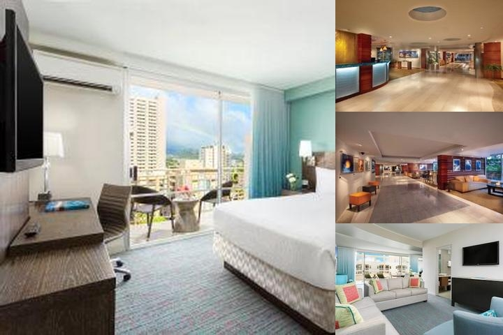 Courtyard by Marriott Waikiki Beach photo collage