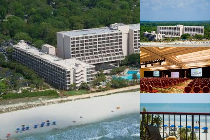 Hilton Head Marriott Resort photo collage