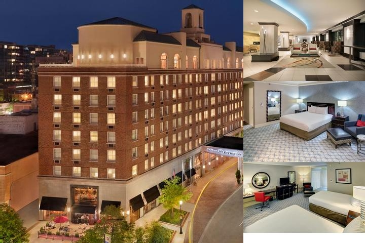 Hilton Orrington Evanston photo collage