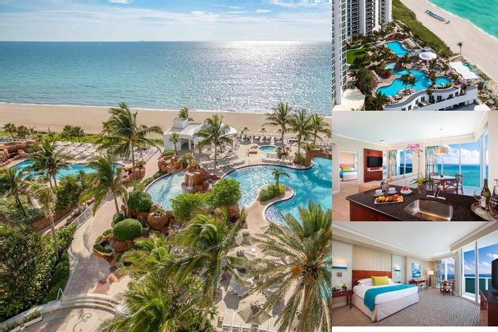 Trump International Beach Resort photo collage