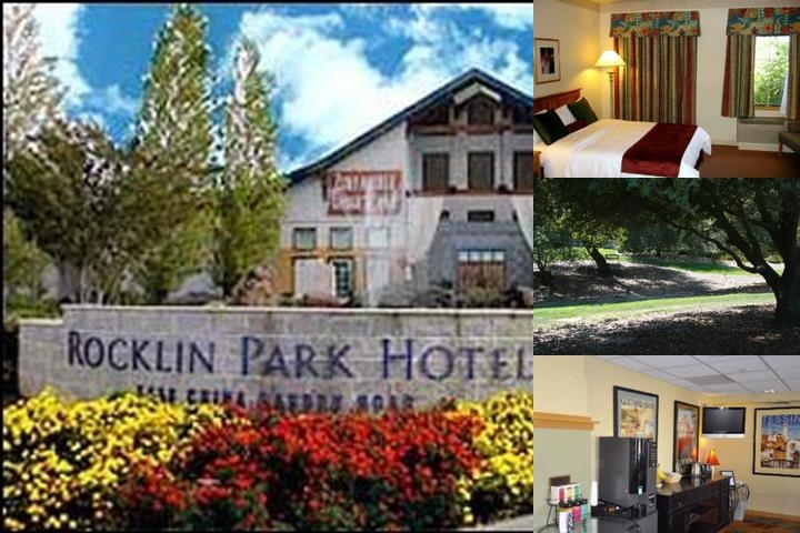 Rocklin Park Hotel photo collage