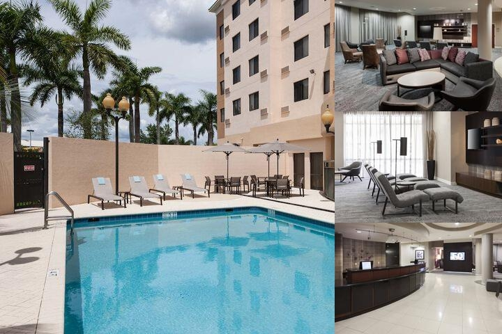 Courtyard by Marriott Miami at Dolphin Mall photo collage