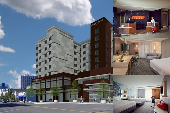 Courtyard by Marriott Everett Downtown photo collage