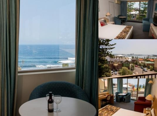 Newcastle Beach Hotel photo collage
