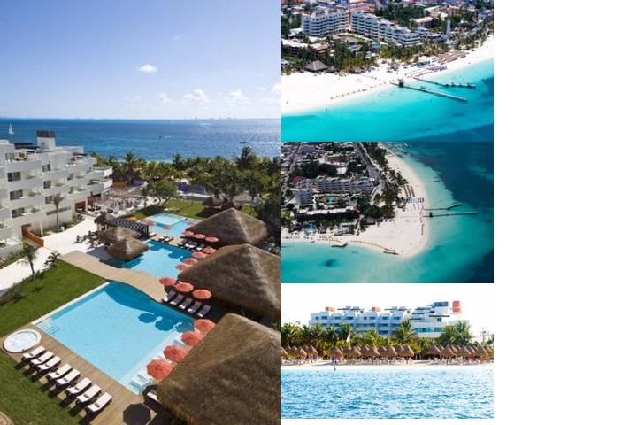 Hotel Privilege Aluxes Isla Mujeres photo collage