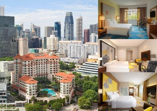 Swissotel Merchant Court photo collage