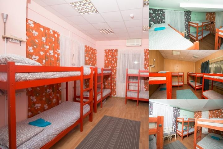 Kangaroo Hostel photo collage