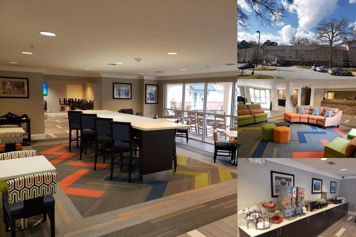Hawthorn Suites by Wyndham Columbus Fort Benning photo collage