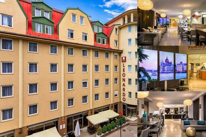 Leonardo Hotel Budapest photo collage