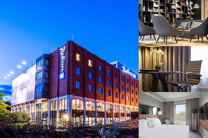 Radisson Blu Arlandia Hotel photo collage