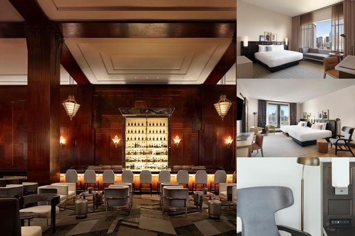 Clift Hotel San Francisco photo collage
