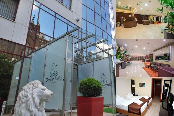 Lions Garden Hotel photo collage