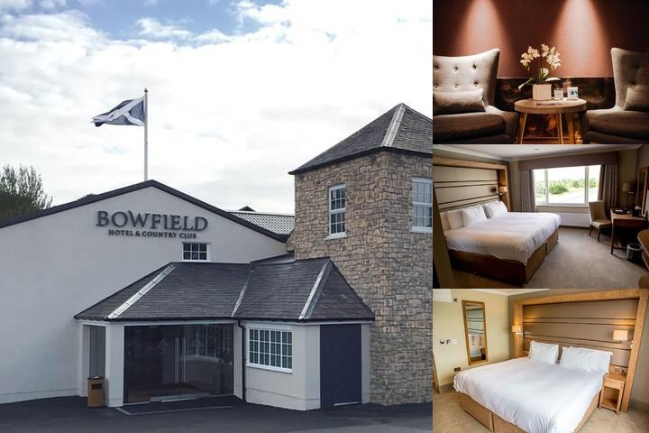 Bowfield Hotel & Country Club photo collage
