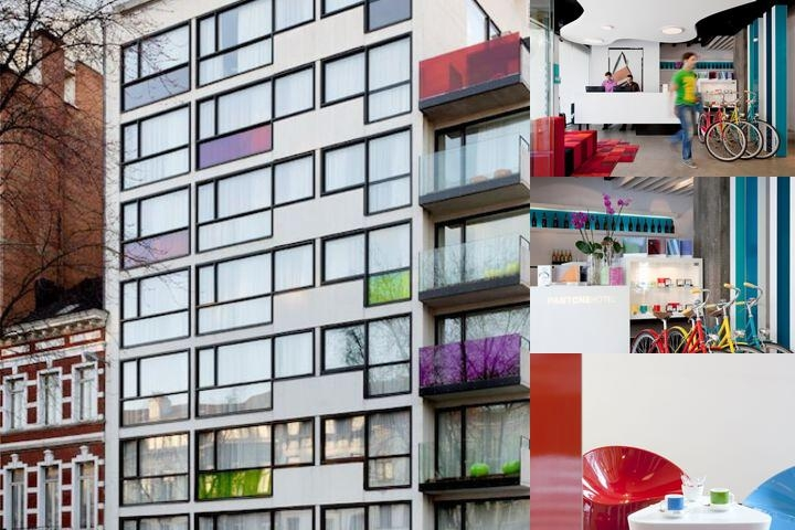 The Pantone Hotel photo collage