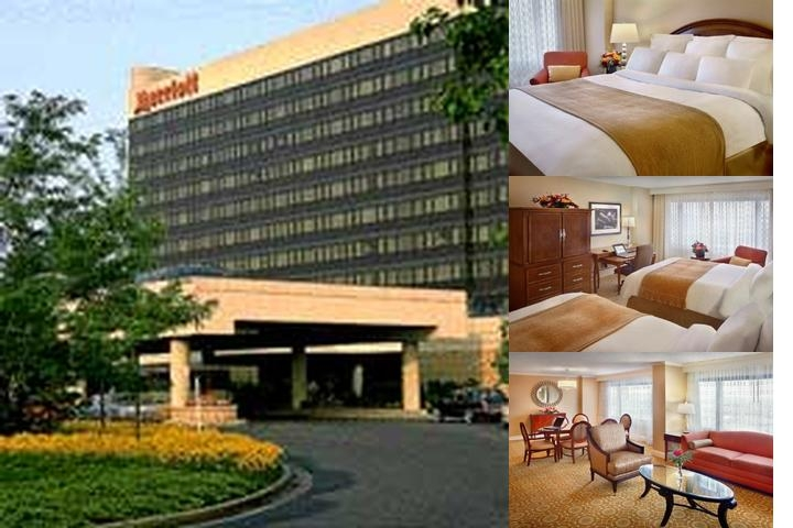 Marriott at Newark Liberty International Airport photo collage